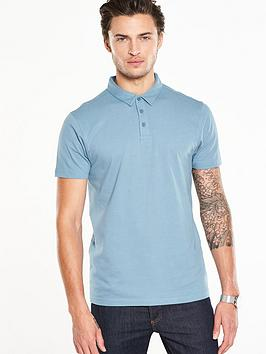 v-by-very-short-sleeve-jersey-polo-top