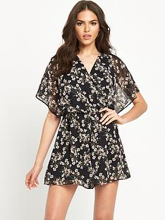 miss-selfridge-printed-wrap-playsuit