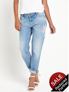 miss-selfridge-rose-embellished-kitty-jeans