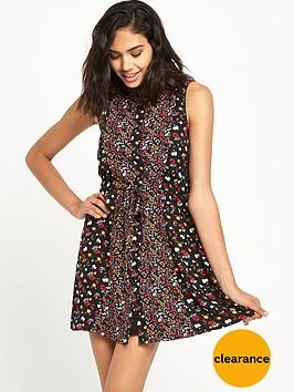 miss-selfridge-miss-selfridge-mixed-ditzy-print-shirt-dress-petite