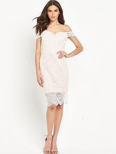 miss-selfridge-lace-cold-shoulder-bodycon-pencil-dress