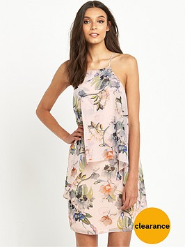 miss-selfridge-printed-double-layer-dress