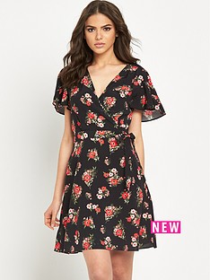 miss-selfridge-printed-tea-dress