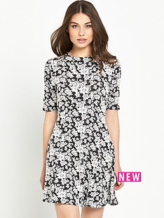 miss-selfridge-floralnbspjacquard-skater-dress