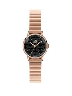 orla-kiely-orla-kiely-frankie-black-dial-rose-coloured-ladies-watch