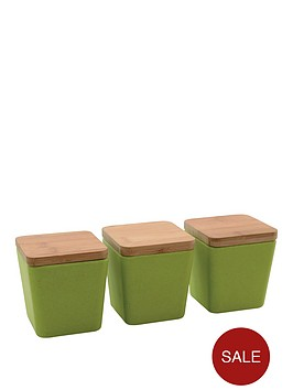 berghoff-bamboo-fibre-storage-cannisters-with-lid