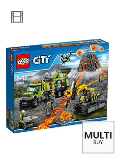lego-city-volcano-exploration-base-60124-amp-free-lego-city-brickmaster