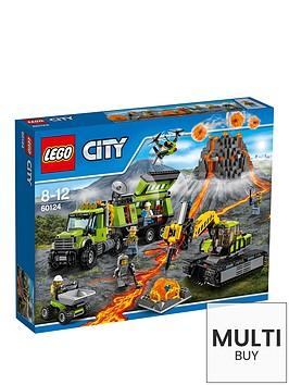 lego-city-volcano-exploration-base-60124-amp-free-lego-city-brickmaster