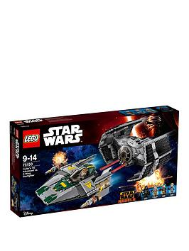 lego-star-wars-vaders-tie-advanced-vs-a-wing-starfighternbsp75150