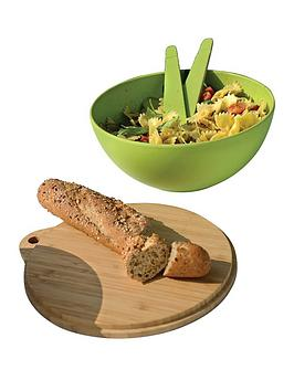 berghoff-bamboo-fibre-covered-bowl-and-2-piece-serving-set