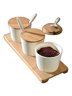berghoff-bamboo-fibre-round-10-piece-serving-jar-set