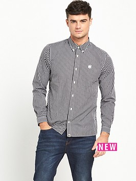 pretty-green-ebsworth-gingham-shirt