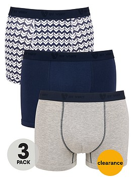 v-by-very-3-pack-geo-pattern-trunk
