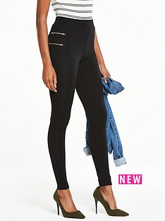 v-by-very-zip-detail-rib-leggings