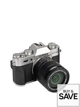 fuji-fujifilm-x-t10-silver-with-xc-16-50mm-ii