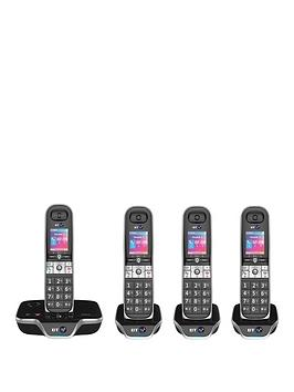 bt-8600-quad-landline-telephone-pack-with-answer-machine-and-advanced-callblocker