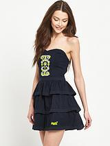 Folk Tiered Cami Dress