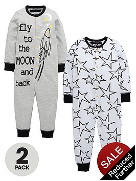 mini-v-by-very-boys-fly-to-the-moon-space-sleepsuitsnbsp2-pack