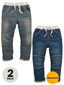 mini-v-by-very-boys-rib-waist-jeans-2-pack