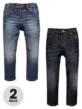 mini-v-by-very-boys-straight-leg-jeans-2-pack