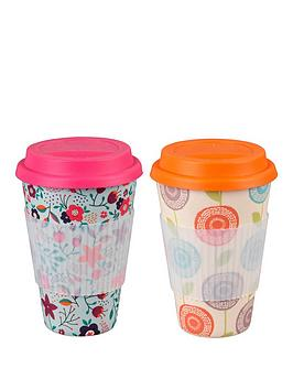 cambridge-bamboo-poppy-flowers-and-garden-of-life-sippy-mug-set-of-2