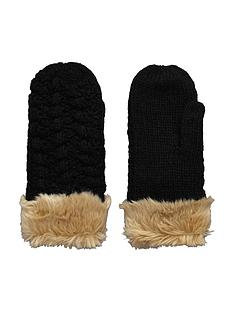 superdry-bobble-stitch-faux-fur-edge-mitten