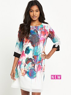 little-mistress-little-mistress-bright-floral-shift-dress