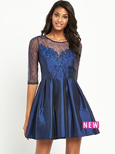 little-mistress-embroidered-lace-skater-dressnbsp