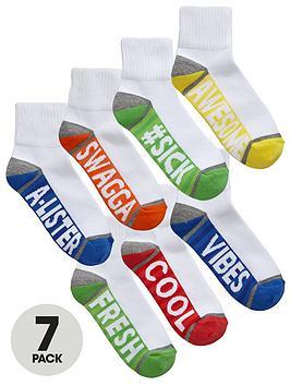 v-by-very-boys-aegisnbspslogan-trainer-socks-7-pack