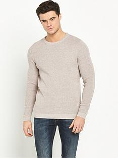 river-island-waffle-textured-jumper