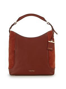 calvin-klein-leather-suede-hobo-bag