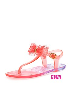 little-miss-kg-little-miss-kg-jellybean-bow-sandal