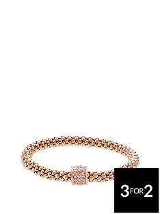 fiorelli-rose-gold-tone-crystal-set-mesh-bracelet
