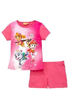 paw-patrol-girls-shortynbsppyjamas