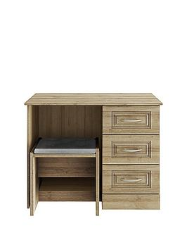 Consort Dorchester Ready Assembled Dressing Table And Stool Set