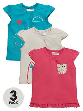 ladybird-baby-girls-bow-and-kitten-print-t-shirts-3-pack