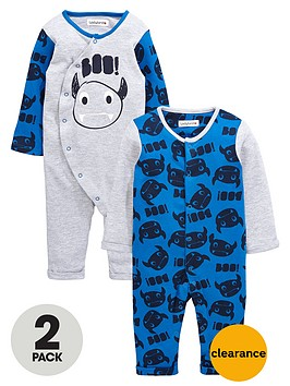 ladybird-baby-boys-monster-rompers-2-pack