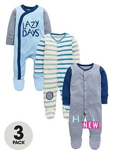 ladybird-baby-boys-3-pk-fashion-stripe-sleepsuits