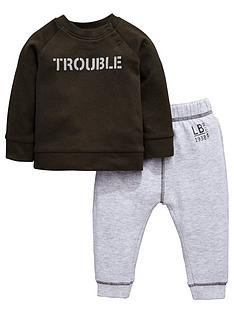 ladybird-baby-boys-039trouble039-value-jog-set