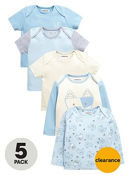 ladybird-baby-boys-puppy-t-shirts-5-pack