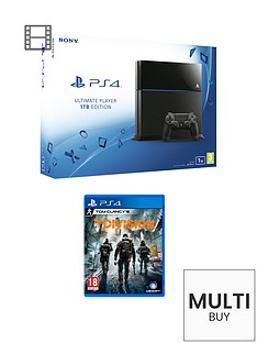 playstation-4-1tb-black-console-with-the-division-and-optional-extra-dualshock-controller-365-psn-subscription