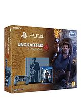 1Tb Special Edition Console with Uncharted 4 - A Thief's End and Optional Extra DualShock Controller, 365 PSN Subscription