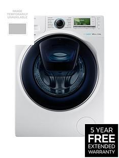 Samsung WW12K8412OW/EU 12kg Load,1400 SpinAddWash™ Washing Machine with ecobubble™ Technology - White