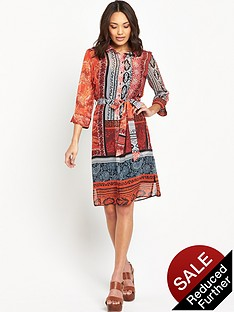 wallis-paisley-tile-shirt-dress