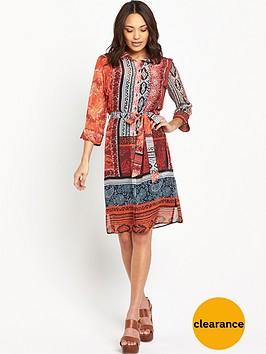 wallis-paisley-tile-shirt-dress