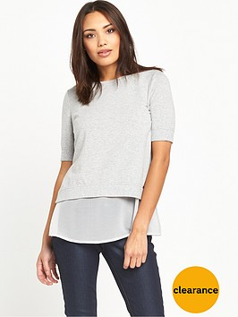 boss-orange-texplora-layered-sweat-top-medium-grey