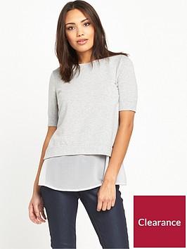 boss-texplora-layered-sweat-top-medium-grey