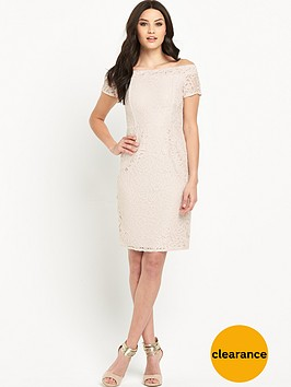 wallis-lace-bardot-dress