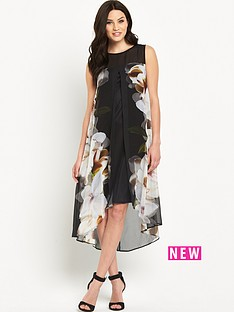 wallis-wallis-rose-mirror-overlay-dress