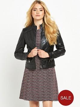 boss-orange-janabelle-leather-jacket-black